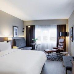 Radisson Blu Plaza Hotel, Oslo 4* Улучшенный номер с видом на фьорд