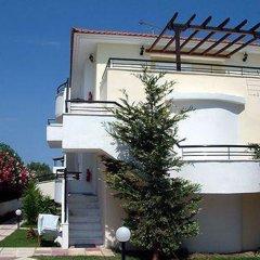 Отель Kapsohora Inn Hotel Греция, Пефкохори - отзывы, цены и фото номеров - забронировать отель Kapsohora Inn Hotel онлайн вид на фасад фото 2