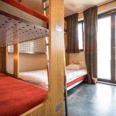Train Hostel Стандартный семейный номер с различными типами кроватей фото 3