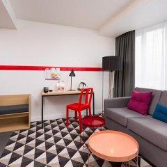 AZIMUT Отель Смоленская Москва 4* Номер SMART Standard на клубном этаже с различными типами кроватей фото 2