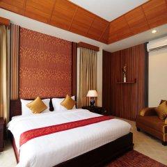 Отель Bhumlapa Garden Resort Таиланд, Самуи - отзывы, цены и фото номеров - забронировать отель Bhumlapa Garden Resort онлайн комната для гостей фото 5