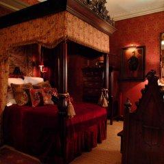 Отель The Witchery By The Castle Эдинбург питание