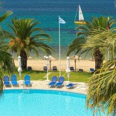 Отель Acrotel Lily Ann Beach бассейн