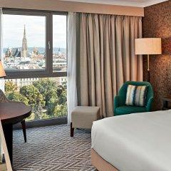 Отель Hilton Vienna Австрия, Вена - 13 отзывов об отеле, цены и фото номеров - забронировать отель Hilton Vienna онлайн удобства в номере фото 2