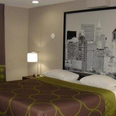 Отель Super 8 Jamaica США, Нью-Йорк - 1 отзыв об отеле, цены и фото номеров - забронировать отель Super 8 Jamaica онлайн комната для гостей фото 8