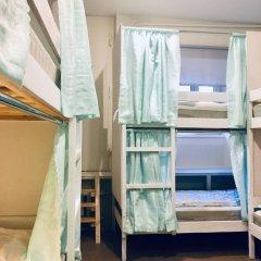 Хостел Пастернак Кровать в общем номере с двухъярусной кроватью фото 6