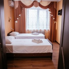 Гостиница Каштан Стандартный номер разные типы кроватей фото 7