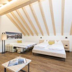 Отель Randolins Familienresort Швейцария, Санкт-Мориц - отзывы, цены и фото номеров - забронировать отель Randolins Familienresort онлайн комната для гостей фото 4
