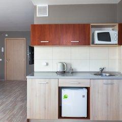 Гостиница Комплекс апартаментов Комфорт Улучшенная студия с различными типами кроватей фото 16