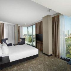 Отель Hilton Tallinn Park 4* Представительский номер с различными типами кроватей фото 3