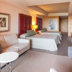 Отель Lopesan Baobab Resort 5* Стандартный семейный номер с различными типами кроватей фото 5