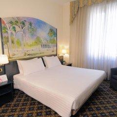 Отель IH Hotels Milano Ambasciatori 4* Стандартный номер с различными типами кроватей