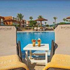Отель SUNRISE Garden Beach Resort & Spa - All Inclusive Египет, Хургада - 9 отзывов об отеле, цены и фото номеров - забронировать отель SUNRISE Garden Beach Resort & Spa - All Inclusive онлайн бассейн фото 14