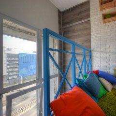 Гостиница Двухуровневый Лофт на Автозаводской / Lucky Star Апартаменты с двуспальной кроватью фото 24