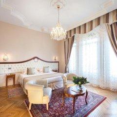 Grand Hotel Rimini 5* Номер Делюкс с различными типами кроватей фото 4