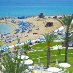 Myroandrou Beach Hotel пляж фото 4
