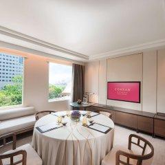 Отель Conrad Centennial Singapore Сингапур, Сингапур - 1 отзыв об отеле, цены и фото номеров - забронировать отель Conrad Centennial Singapore онлайн питание фото 2