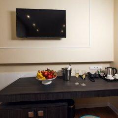 Гостиница Голубая Лагуна Улучшенный номер с различными типами кроватей фото 10