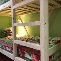 Хостел ХотелХот Бауманская Кровать в общем номере фото 3