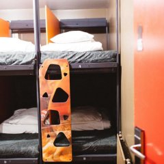 Clink78 Hostel Кровать в женском общем номере с двухъярусной кроватью фото 3