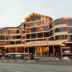 Гостиница Аркадия в Эсто-Садке 6 отзывов об отеле, цены и фото номеров - забронировать гостиницу Аркадия онлайн Эсто-Садок вид на фасад