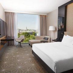 Отель Hilton Tallinn Park 4* Стандартный номер с различными типами кроватей