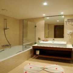 Отель Vincci Helios Beach Тунис, Мидун - отзывы, цены и фото номеров - забронировать отель Vincci Helios Beach онлайн ванная