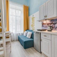 Апартаменты Sokroma Глобус Aparts Студия с двуспальной кроватью фото 8