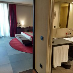 Отель IH Hotels Milano Ambasciatori 4* Полулюкс с различными типами кроватей фото 4
