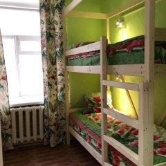 Хостел ХотелХот Бауманская Кровать в общем номере фото 5