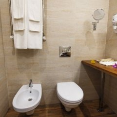 Гостиница Голубая Лагуна Улучшенный номер разные типы кроватей фото 12