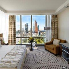 Гостиница Crowne Plaza Moscow World Trade Centre 5* Клубный номер с различными типами кроватей фото 3