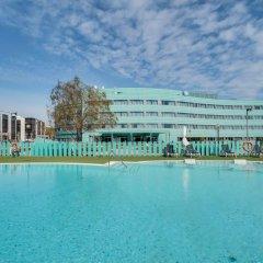 Отель Barcelona Airport Hotel Испания, Эль-Прат-де-Льобрегат - 3 отзыва об отеле, цены и фото номеров - забронировать отель Barcelona Airport Hotel онлайн бассейн фото 2