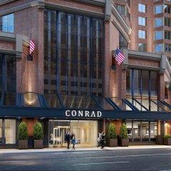 Отель Conrad New York Midtown США, Нью-Йорк - отзывы, цены и фото номеров - забронировать отель Conrad New York Midtown онлайн вид на фасад