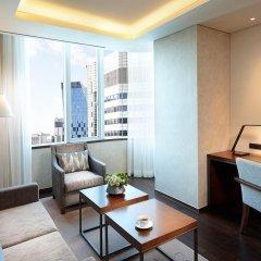 Lotte City Hotel Myeongdong 4* Улучшенный люкс с различными типами кроватей фото 3