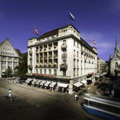 Savoy Hotel Baur en Ville Цюрих вид на фасад фото 2