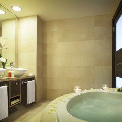 Отель Adrián Hoteles Roca Nivaria 5* Улучшенный люкс с различными типами кроватей фото 4