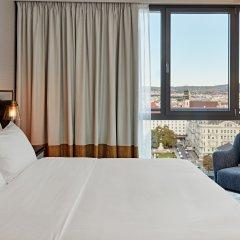 Отель Hilton Vienna Австрия, Вена - 13 отзывов об отеле, цены и фото номеров - забронировать отель Hilton Vienna онлайн комната для гостей фото 13