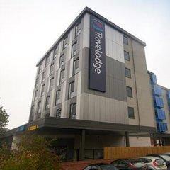 Отель Travelodge Manchester Upper Brook Street вид на фасад фото 2