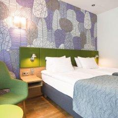 Отель Holiday Inn Helsinki City Centre 4* Стандартный номер с различными типами кроватей