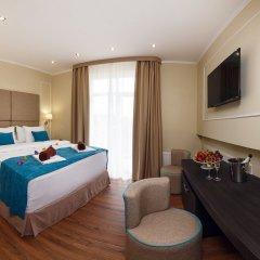 Гостиница Голубая Лагуна Улучшенный номер разные типы кроватей фото 9