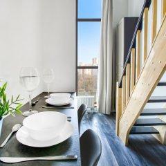 Гостиница ApartVille Улучшенные апартаменты с различными типами кроватей фото 3