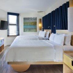 Arthouse Hotel New York City 4* Улучшенный номер с 2 отдельными кроватями