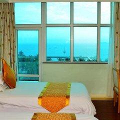 Отель Sanya Huayuan Hot Spring Sea View Resort комната для гостей