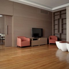 Апартаменты Горки Город Апартаменты комната для гостей фото 16