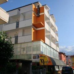 Отель MORFEO Римини вид на фасад фото 2