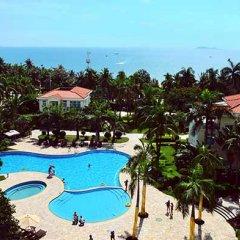 Отель Sanya Huayuan Hot Spring Sea View Resort балкон