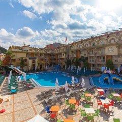 Отель Exelsior Beach Aparthotel бассейн
