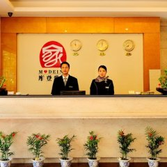 Отель Xiamen Mode Inn Wenzao Branch Сямынь интерьер отеля