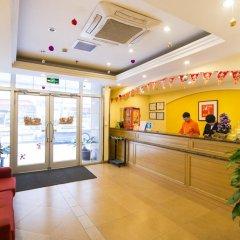 Отель Home Inn Beijing Yansha Embassy District интерьер отеля